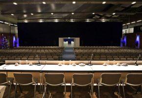 Event Forum Castrop - Räumlichkeiten - Europahalle - Innenansicht - Tagung