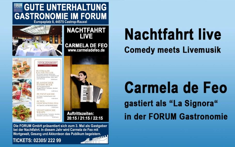 Event Forum Castrop - Nachtfahrt