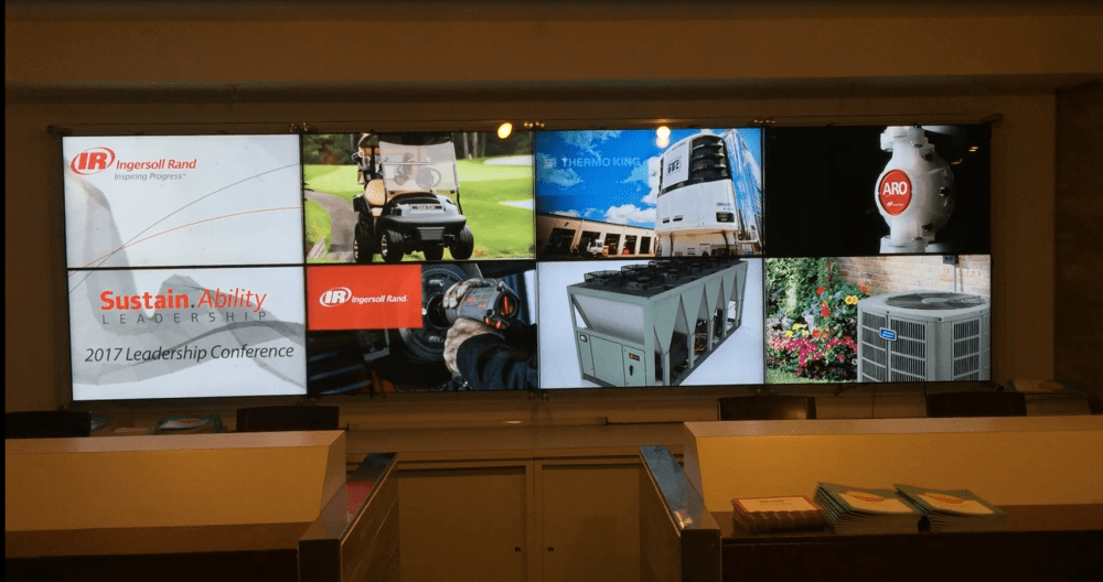 digital signage example