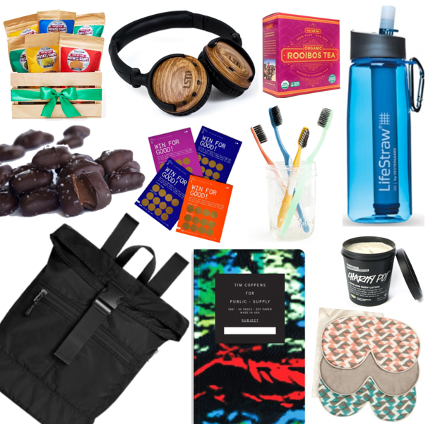 conference swag bag gifts that give back