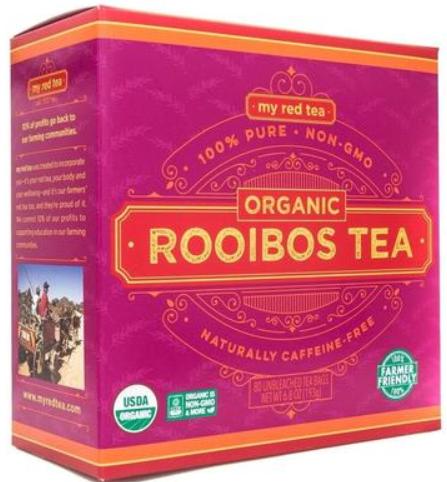 my red tea rooibos tea
