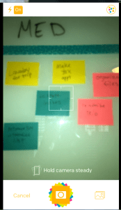 post it plus app step 1