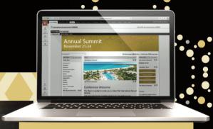 Custom-made event website