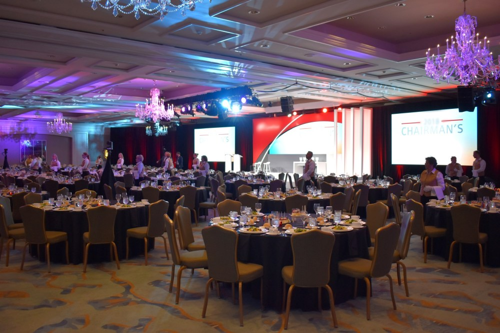 Conference stage design