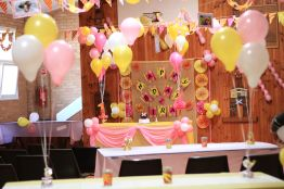 Pink_Yellow_White_theme_birthday_party_decoration_10