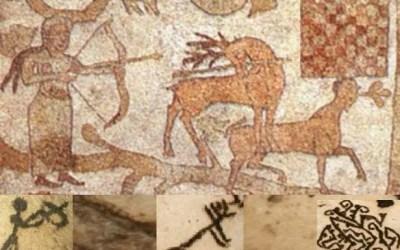 Suggestioni ed analogie tra Mosaico di Otranto e pitture rupestri della Grotta dei Cervi di Porto Badisco