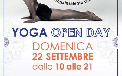 Open Day, lezioni Yoga gratuite a Zollino. Domenica 22 settembre dalle ore 10.00