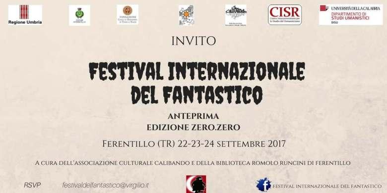 Invito al Festival del fantastico