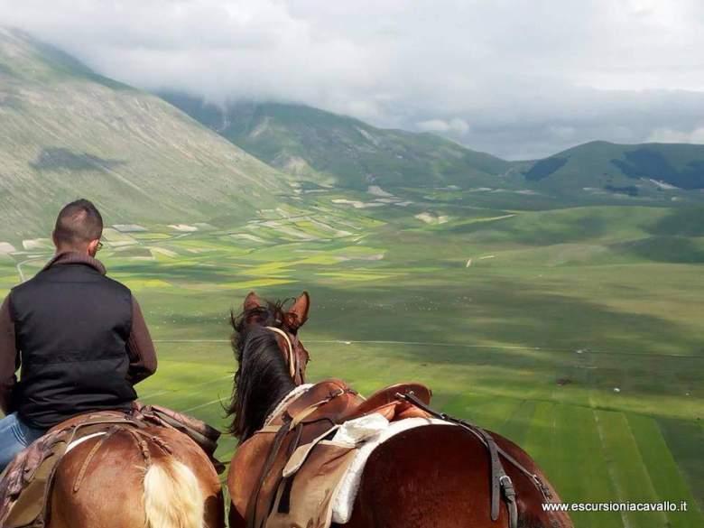 Pasquetta  a Norcia in umbria nel parco nazionale dei monti sibillini
