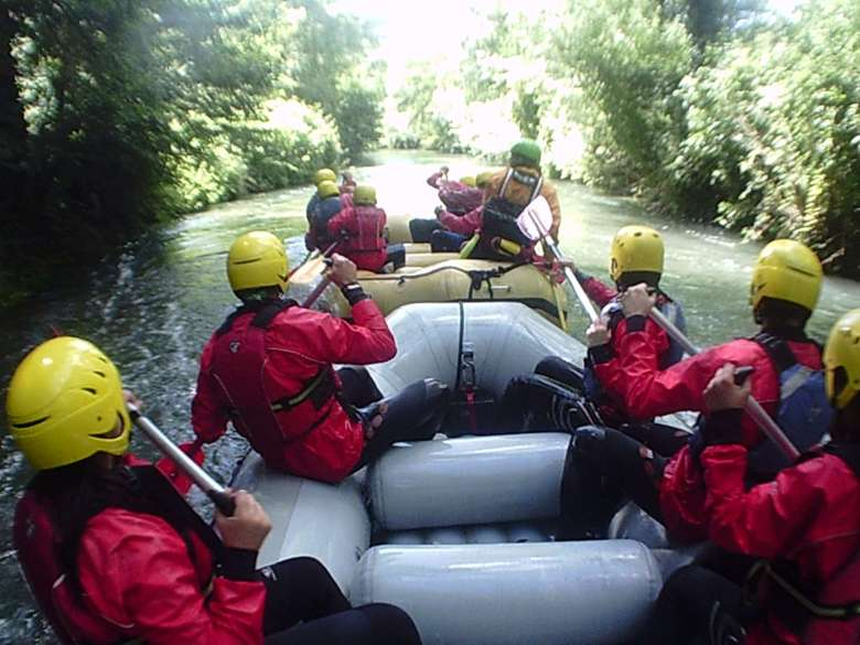 rafting avventura in umbria