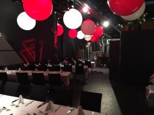 Eventlocation mit Ballon Deko