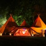 Zweedse tipi tenten