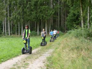 Segway Touren zur Grünhütte in Bad-Wildbad