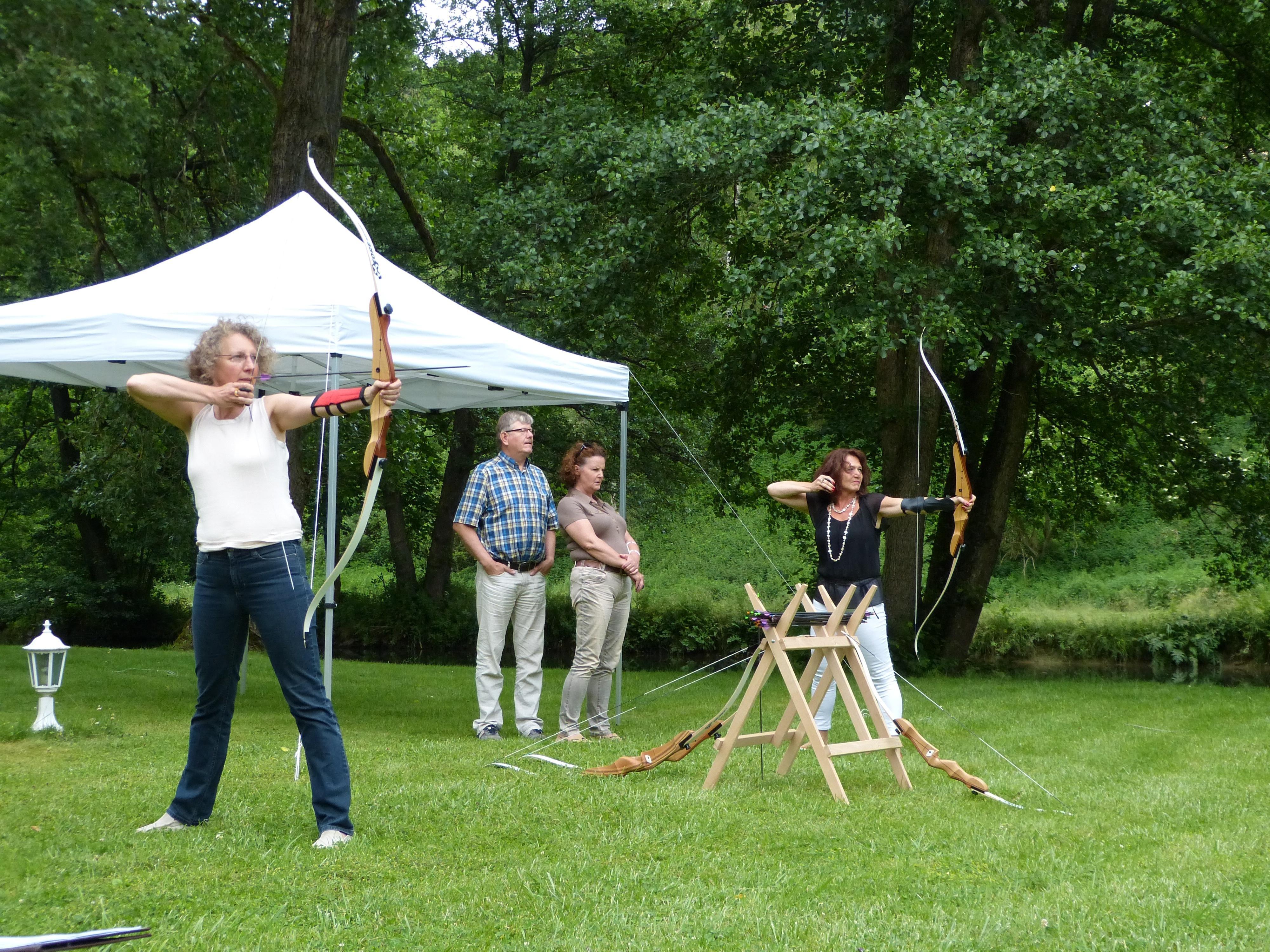 Outdoor Erlebnis Bogenschießen als Teamevent in Calw und Nagold
