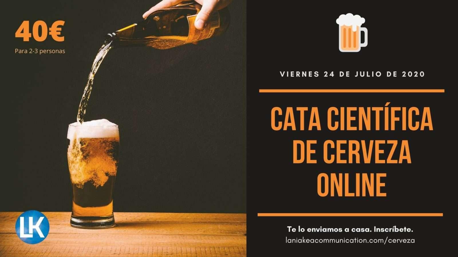 Cata científica de cerveza online – 24 de julio de 2020