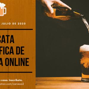 Cata científica de cervezas 31 julio