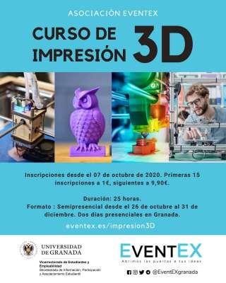 Curso de Impresión 3D - Asociación EventEX