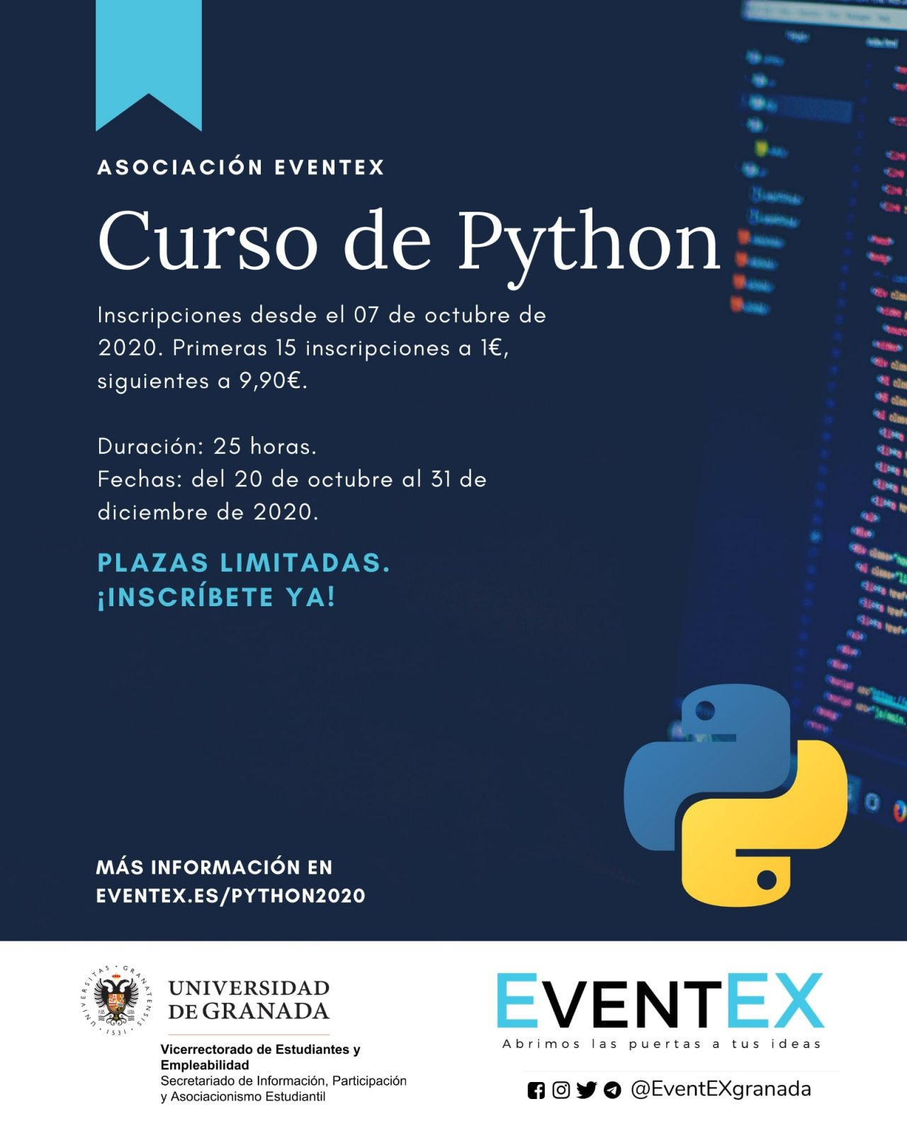Curso de Python - Asociación EventEX