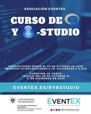 Curso de R y R-Studio - Asociación EventEX