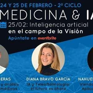 2º Ciclo MEDICINA & IA. Día 2: IA en el campo de la Visión