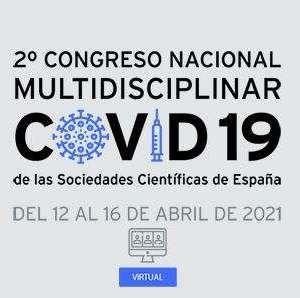 2º Congreso Nacional Multidisciplinar Covid-19 de las Sociedades Científicas de España