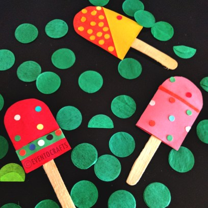 Ice Cream Bookmarks and Tags