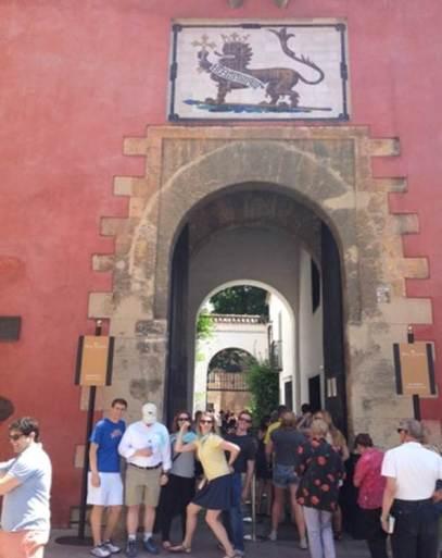 Gymkana por Sevilla con tablets _15