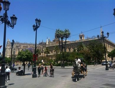 Gymkhana por Sevilla con tablets __