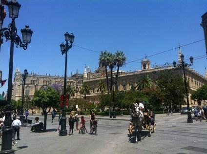 Gymkana por Sevilla con tablets __