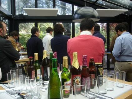 Cata de Cervezas realizada en Cabaña Marconi _1