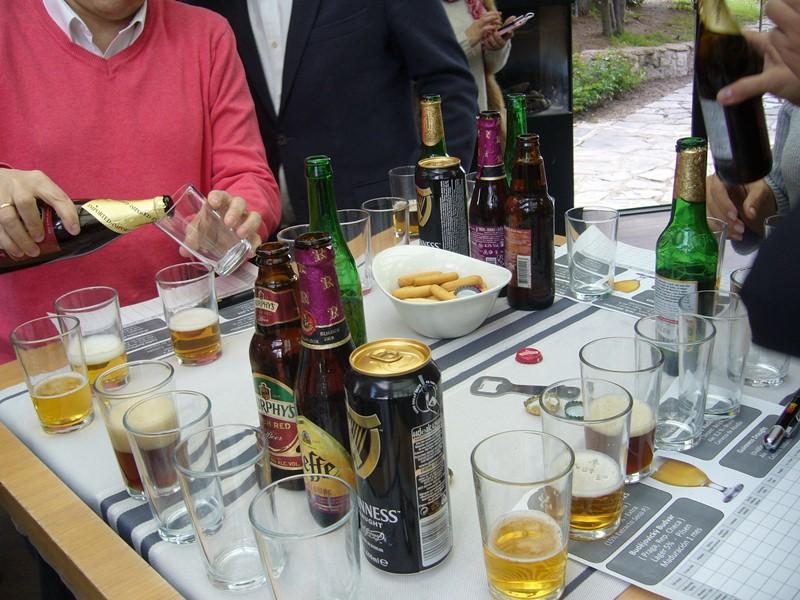 Cata de Cervezas realizada en Cabaña Marconi _2