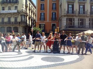Gymkhana con tablets por Barcelona Express_15