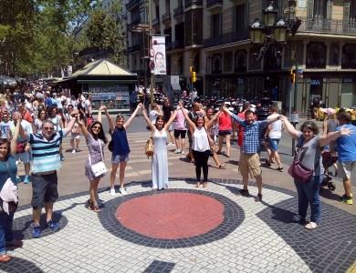 Gymkhana con tablets por Barcelona Express_18