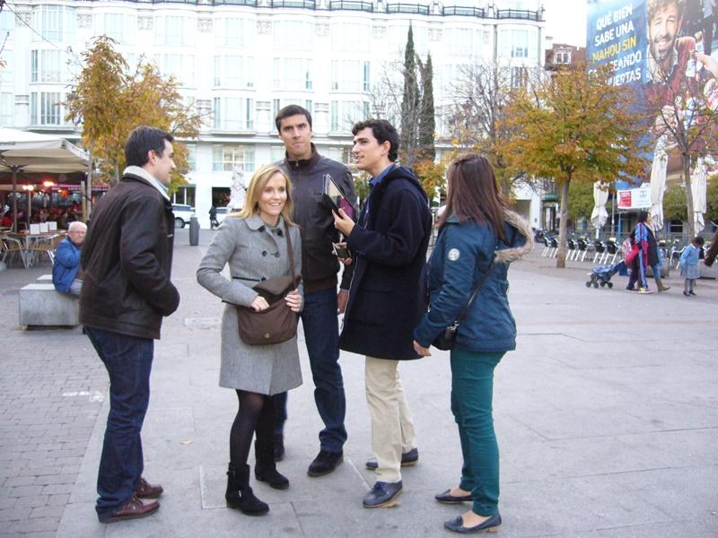 gymkhana con tablets por el Madrid de los Austrias 11_