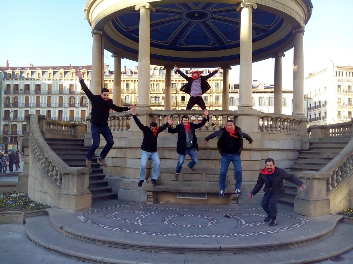 gymkhana con tablets por Pamplona _41_