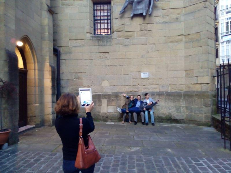 Gymkhana con tablets por San Sebastián _35