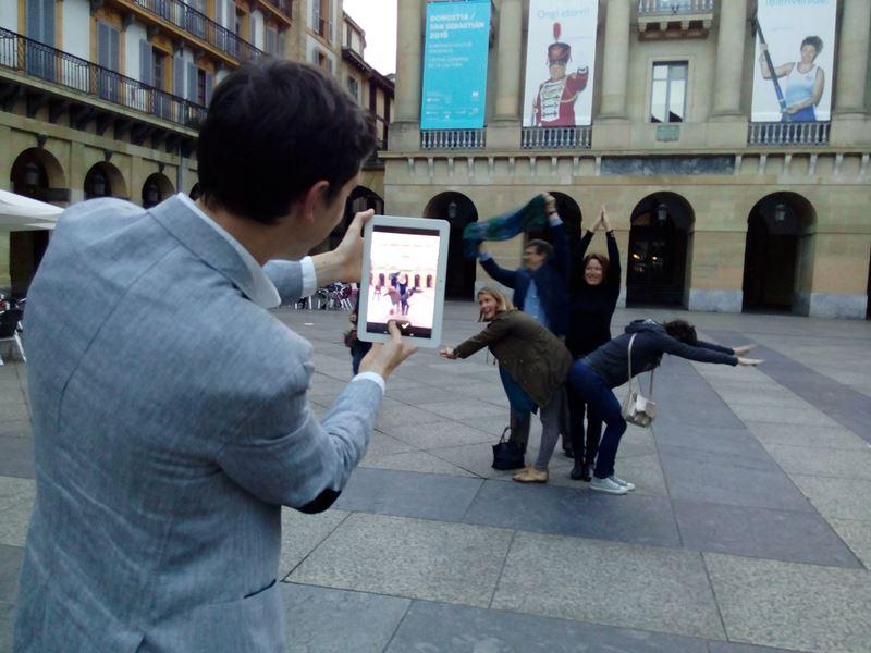 Gymkhana con tablets por San Sebastián _36