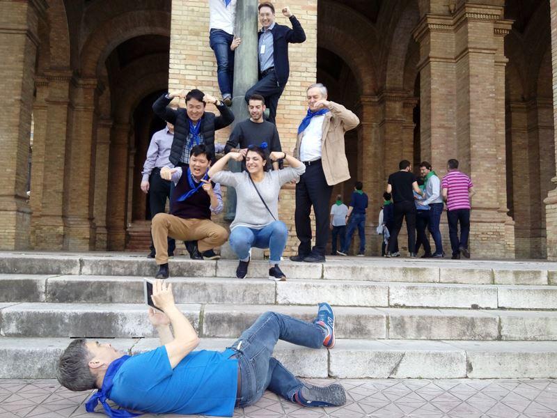 Gymkhana con tablets en Sevilla _12