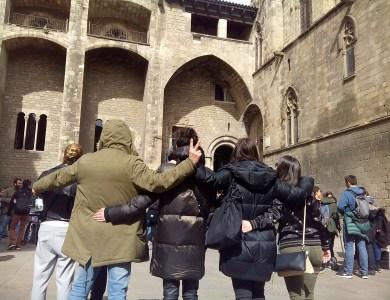 Gymkana con tablets por Barcelona