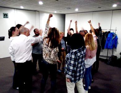 Taller de Risoterapia en Bilbao actividad team building