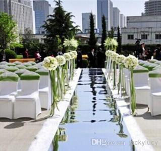 Shiny-Wedding-font-b-Mirror-b-font-Carpet-Aisle-Runner-Gold-Silver-Double-Side-Design-T