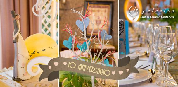 10 Aniversario Eventos Palacios