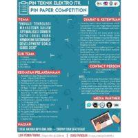 PIN Paper Competition 2018 Teknik Elektro ITK