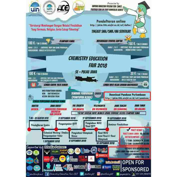 Chemistry Education Fair 2018 UIN Jakarta