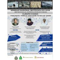 Seminar Nasional Bioteknologi 2018