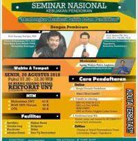 seminar nasional kebijakan pendidikan