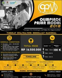 Olimpiade Pasar Modal (OPM) 2018 UNM