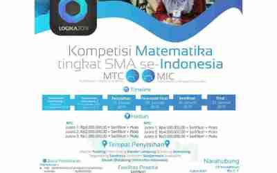 Kompetisi Matematika SMA MIC & MTC LOGIKA UI 2019
