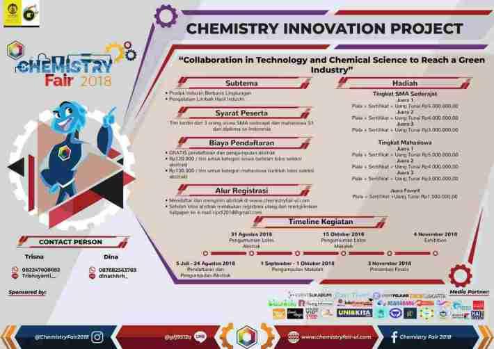 Chemistry Innovation Project [Chemistry Fair 2018]