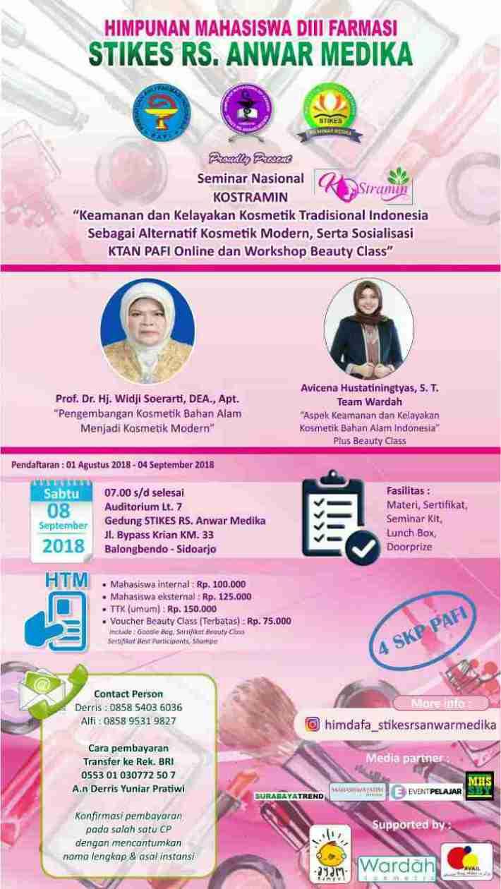 Seminar Nasional 'Konstramin'